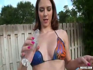 Nasty Ginger Amateur Nicole Opening Anal Sex