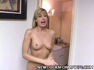 hot cuckold action, nice mix, you wife fuck