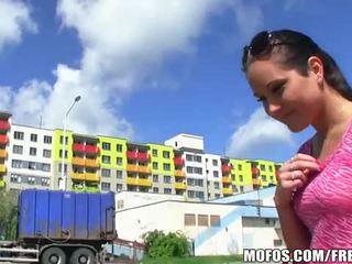 Brunette czech girl paid for sex