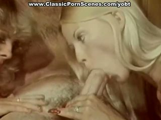 watch group sex scene, fun blowjob, vintage movie