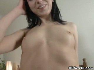 brunette video-, beste jong thumbnail, nieuw nice ass porno