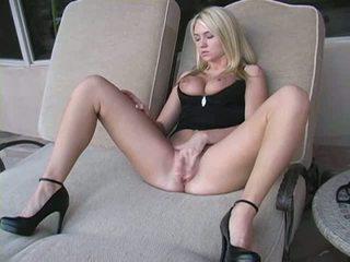 fin sexy, hot ideell, stor blondt du