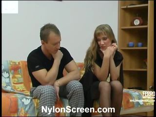DiAna And Adrian Ardent Nylon Movie Activity