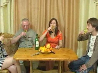 Pure russisch familie seks video-
