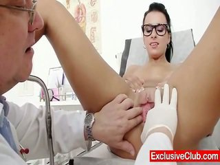 Kirsten Plant Inside Gyno Hospital Bizarre Bush Checkup