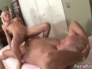 Madison Scott Sits On Her Old Man's Doinker Feeling The Fantastic Pleasure