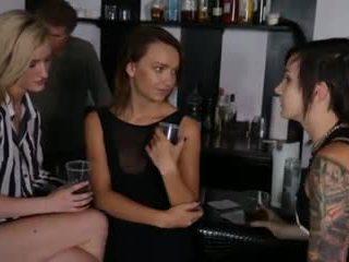 beste lesbiennes kanaal, trio klem