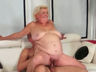 old, grandma, blowjob, fat
