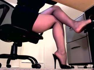 echt femdom video-, benen seks, domina