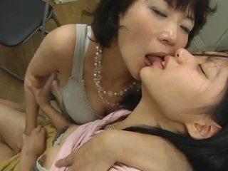 日本, 女同志, 短褲, 成熟