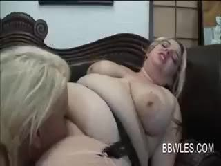 Fat Teenage Lesbians Having Passionate Oral Sex