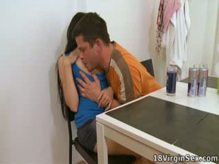 Ami has a man's dong inside her for the first time, loving it.