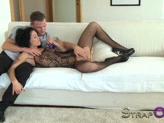 controleren dubbele penetratie, seksspeeltjes gepost, strapon mov