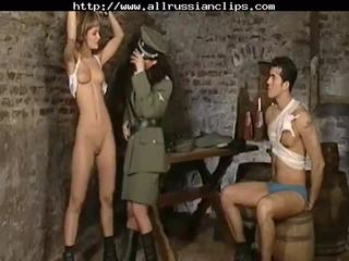 Dominant russians abuse prisoners russian cumshots walet