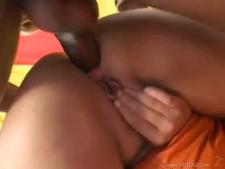 Ines Ventura take a black cock in the ass