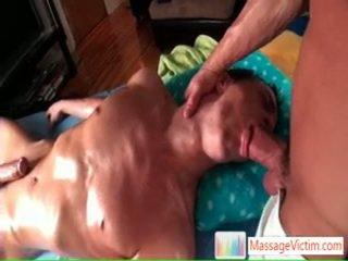 Brice enjoying một số đẹp hậu môn massaging qua massagevictim