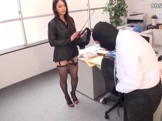 Female Domination Mistress Strap On At Office
