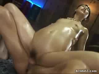 adorable asian doll with amazing ass fucked hard!