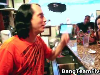 Bar Hopping, Bartender Cum Swapping