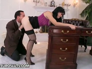 mooi brunette actie, hardcore sex gepost, echt zoenen porno