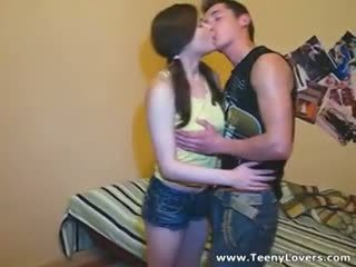 This Teen Cutie With Ponytails And Her Hot Boyfriend Not