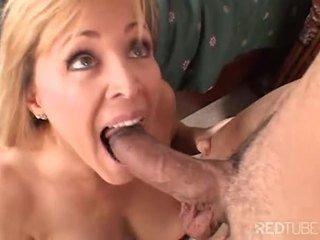 Nicole Moore sucks meat hard for pleasure