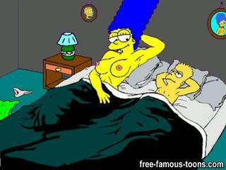 Bart Simpson family sex