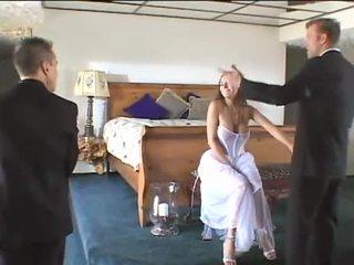 It's her wedding night