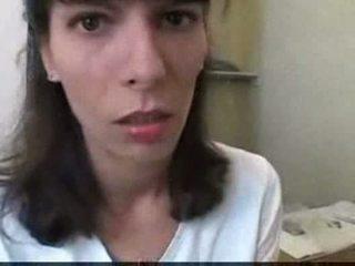 Euro 青少年 他媽的 在 浴室 視頻