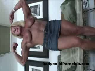 bigtits, nu, musculaire