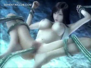 动漫 hottie 性交 水下 由 长 tentacles