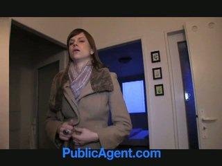 Público agent fucks embarazada marketa