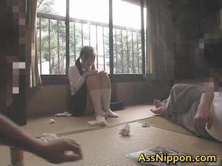 japán, assfucking, anál