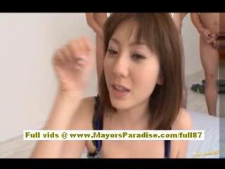 Yuma asami азиатки мадама gives an удивителни духане