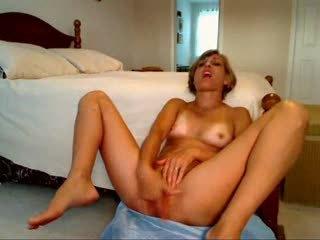 Mamá masturbándose