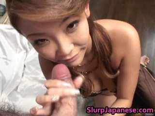 Rui Horie Lovely Asian Model Gives Irrumation