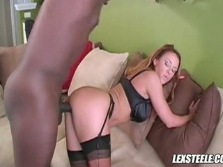 Scorching Sexy Janet Mason Eagerly Acquires Her Lover's Ram Rod Inside Her Beautiful Mouth