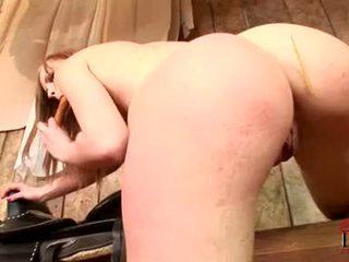 Gitta Blond Needs Her Oozing Snatch Fucked By More Then This Dildo