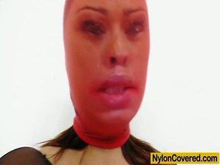 meer brunette porno, ideaal maskeren thumbnail, groot panty actie