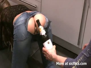 Fisting můj girlfriends netvor gaping asshole