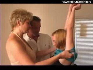 Ffm poppari trio kanssa läkkäämpi äiti ja teinit video-