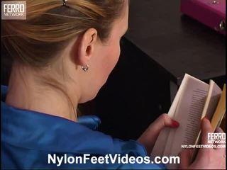 Isabella And Bertram Mindblowing Stockings Feet Action