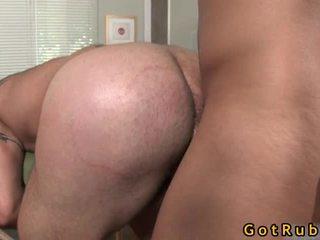 Massagem pro receives sua taut cu stuffed difícil