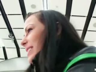 brunete, realitāte, hardcore sex