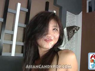 ładny, cum, prostytutka