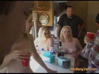 brunete, hardcore sex, blondīnes