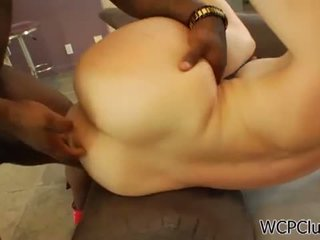 WCP Club: Dana stretches her ass for a black cock