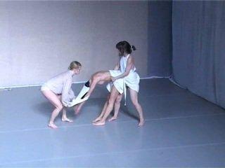 Nude dance theatre