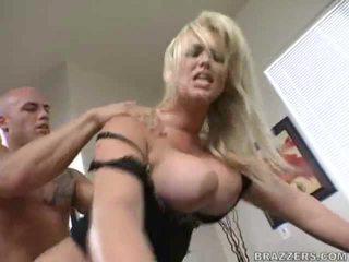 lielas krūtis, office sex, no aizmugures