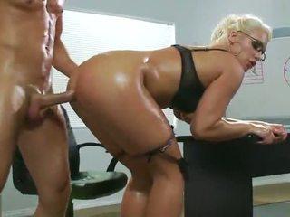office sex, sexy, eerste anale